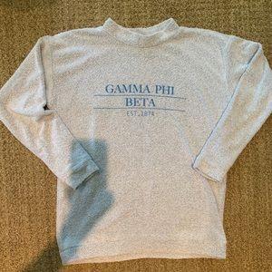 Gamme Phi Beta Whoolly Threads Sweatshirt Size M
